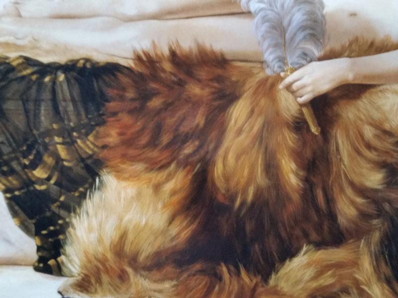 Alma Tadema. Collezione privata. Cm 80x50