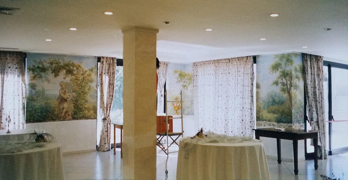 """""""Veduta Romantica"""" Sala cerimonie San Giovanni Rotondo Mq 200 (Collaborazione con lo studio Malleo)"""