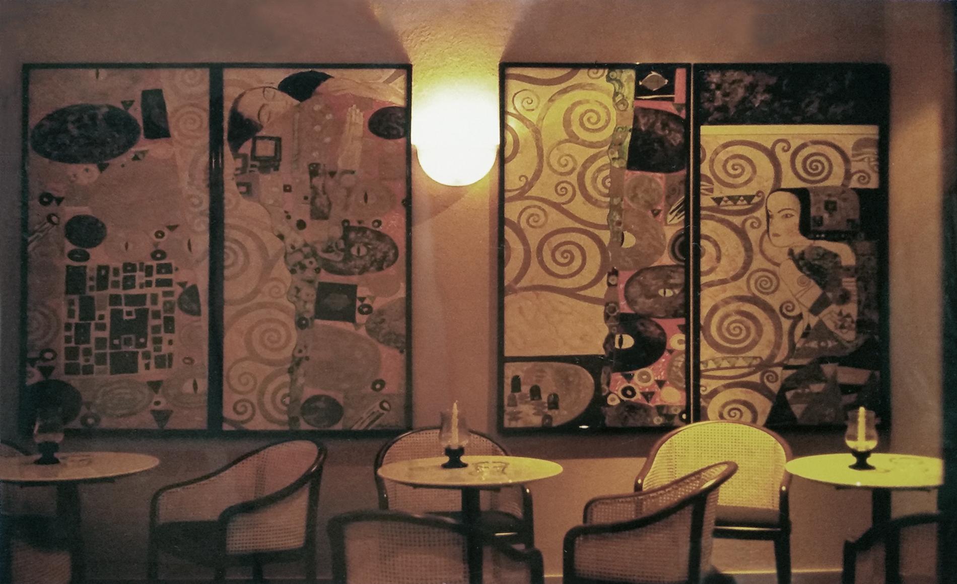 Night club Calabria Tecnica mista. Colorazione ad acrilico su tela. Mq 24