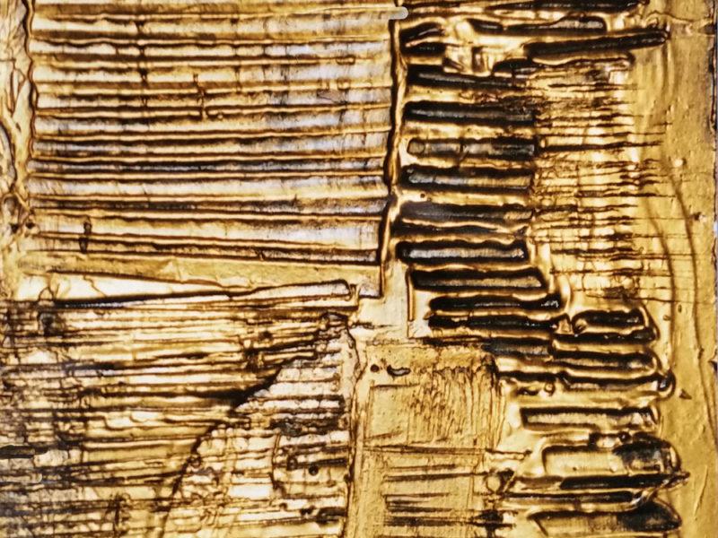 Bassorilievi Bronzo 2002 Teatro Sestriere Italia Gesso modellato su multistrato. Colorazione con oro. Bronzatura Mq 30