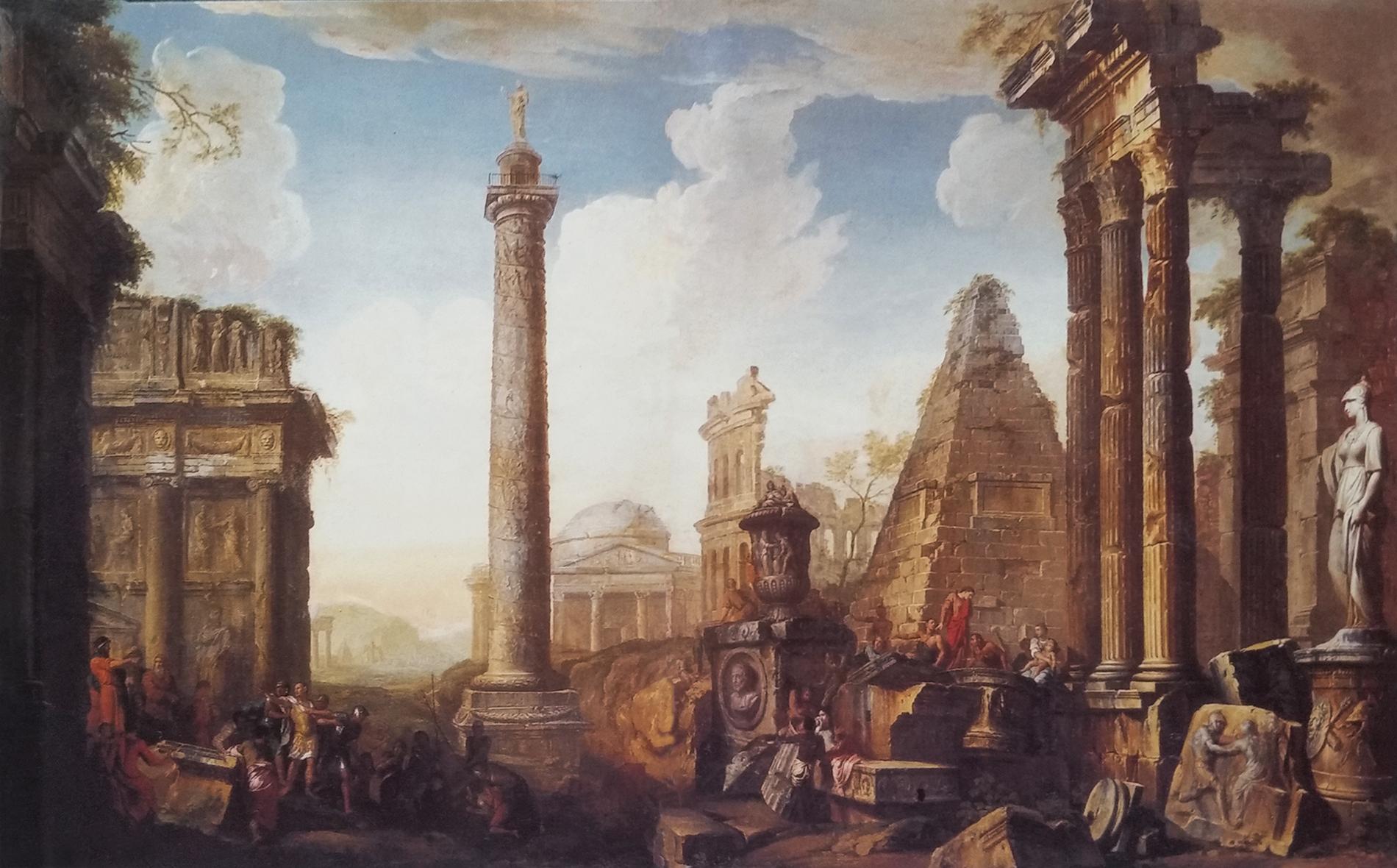"""""""Antiche rovine"""" di G.P.Panini"""