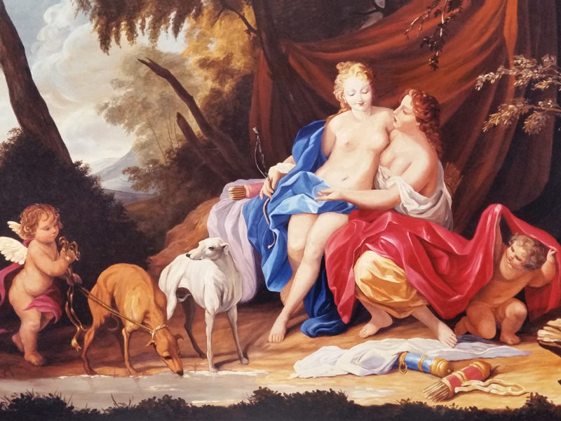 Jacopo Amigoni - Giove e Callisto