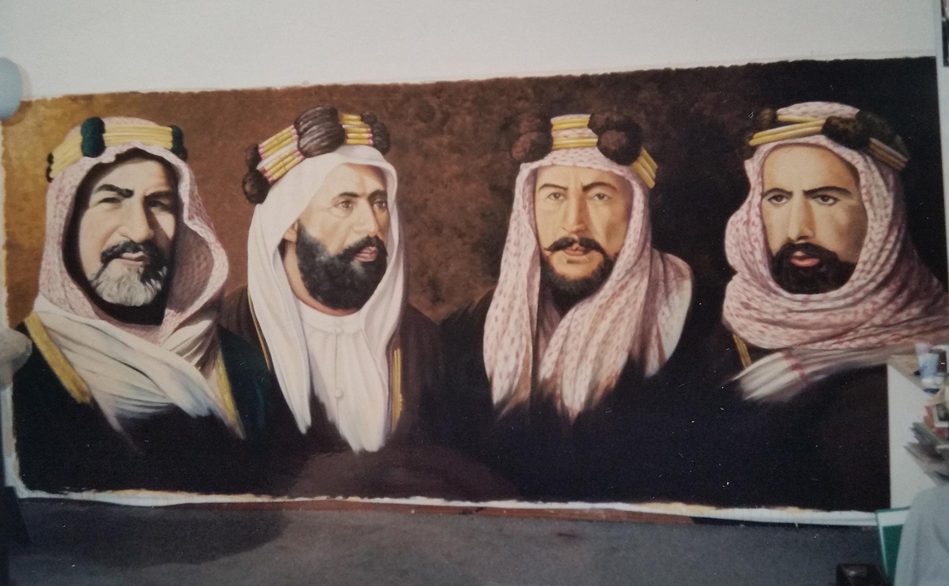 """ritratto in costume, olio su tela, acrilico su tela, ritratto, ritratti """"Quattro generazioni"""""""